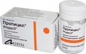 Пропилтиоурацил (ПТУ)