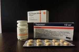 Антитиреоидные препараты для лечения гипертиреоза
